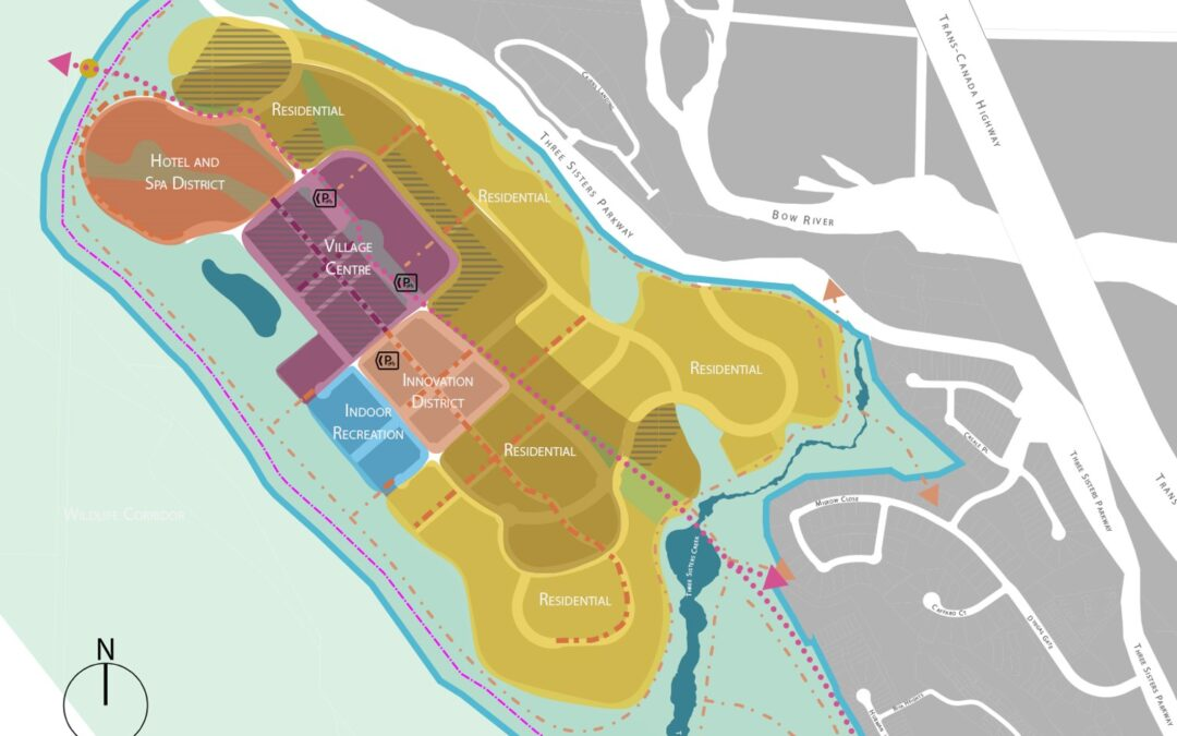 Three Sisters shares planning update with Canmore Council